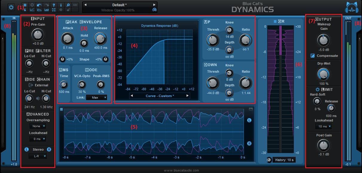 Blue Cat's Dynamics User Manual