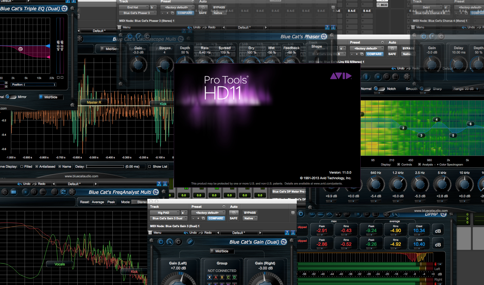 Avid Audio Extensions (AAX) for Pro Tools - AAX Plug-Ins for