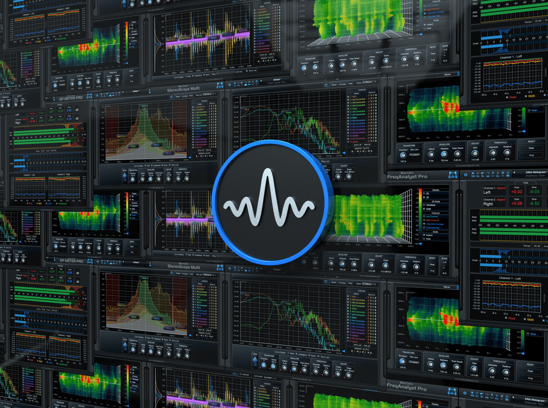 Blue Cat's Analysis Pack - Audio Analysis Tools and Audio to