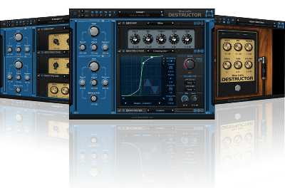 Blue Cat's Destructor - Distortion and Amp Sim Plug-In (VST, AU, AAX