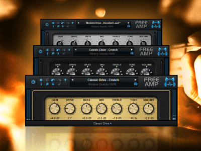 Blue Cat's Free Amp plugin vst gratuit