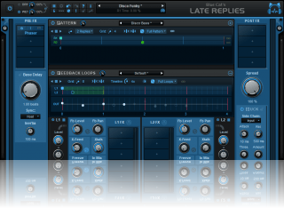 Blue Cat's Late Replies - Delay Multi FX Plug-In and Host (VST, AU, AAX, VST3)