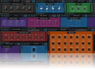 Blue Cat's Plug'n Script - Choose your style and let the plug-in generate the graphical user interface (GUI) for you.