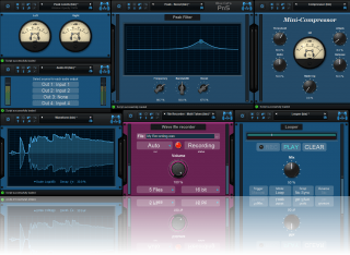 Blue Cat's Plug'n Script - Write custom layouts for your graphical user interfaces (GUI) using the included widgets.