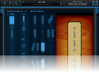 Blue Cat's Re-Guitar - Mellow P90 pickup emulation
