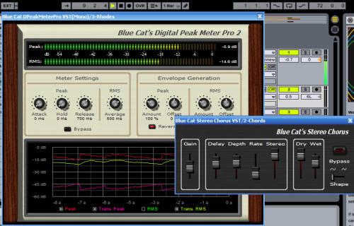 Tutorial - Blue Cat's Digital Peak Meter Pro In Ableton Live