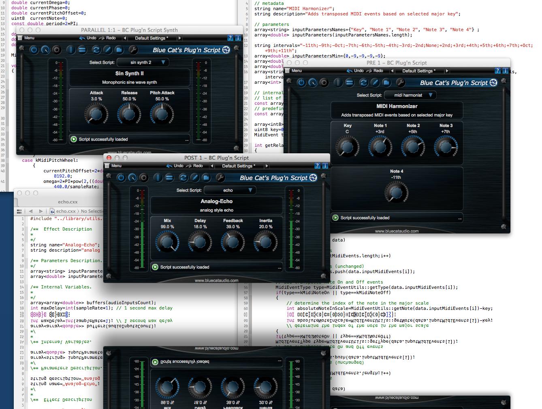 Blue Cat's Plug'n Script: Bringing MIDI and Audio Scripting into your DAW