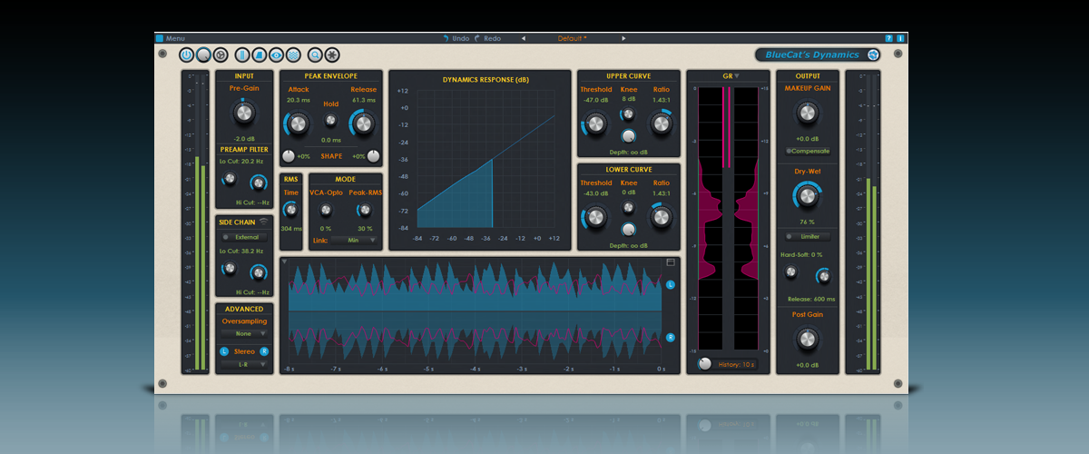 New Free Skin for Blue Cat's Dynamics 4.0 by Satyatunes