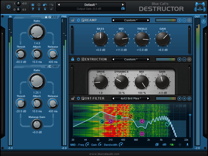 Blue Cat's Destructor 1.1 and Year-End Deals Launched!