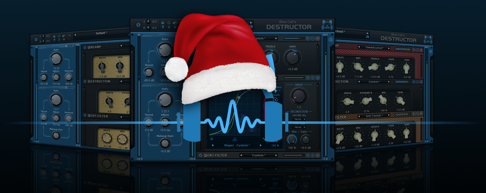 Blue Cat's PatchWork, MB-7 Mixer and Destructor Free Update