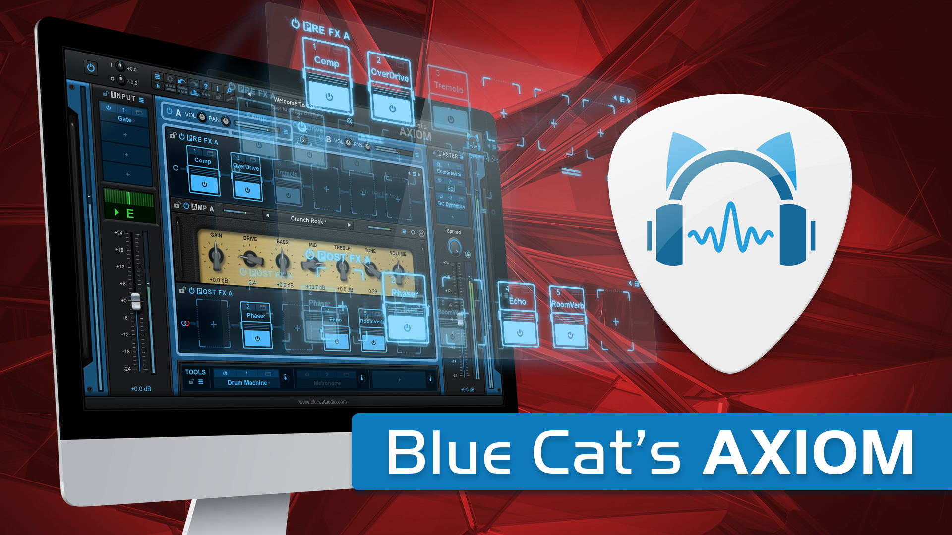 Blue Cat's Axiom: Yet Another Multi Effects Processor With Amp Simulation?