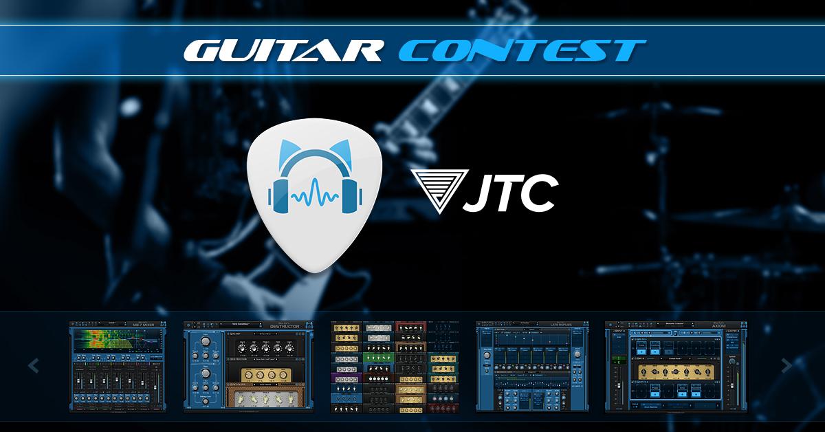 Blue Cat Audio Guitar Contest: Prizes Worth $1,796!