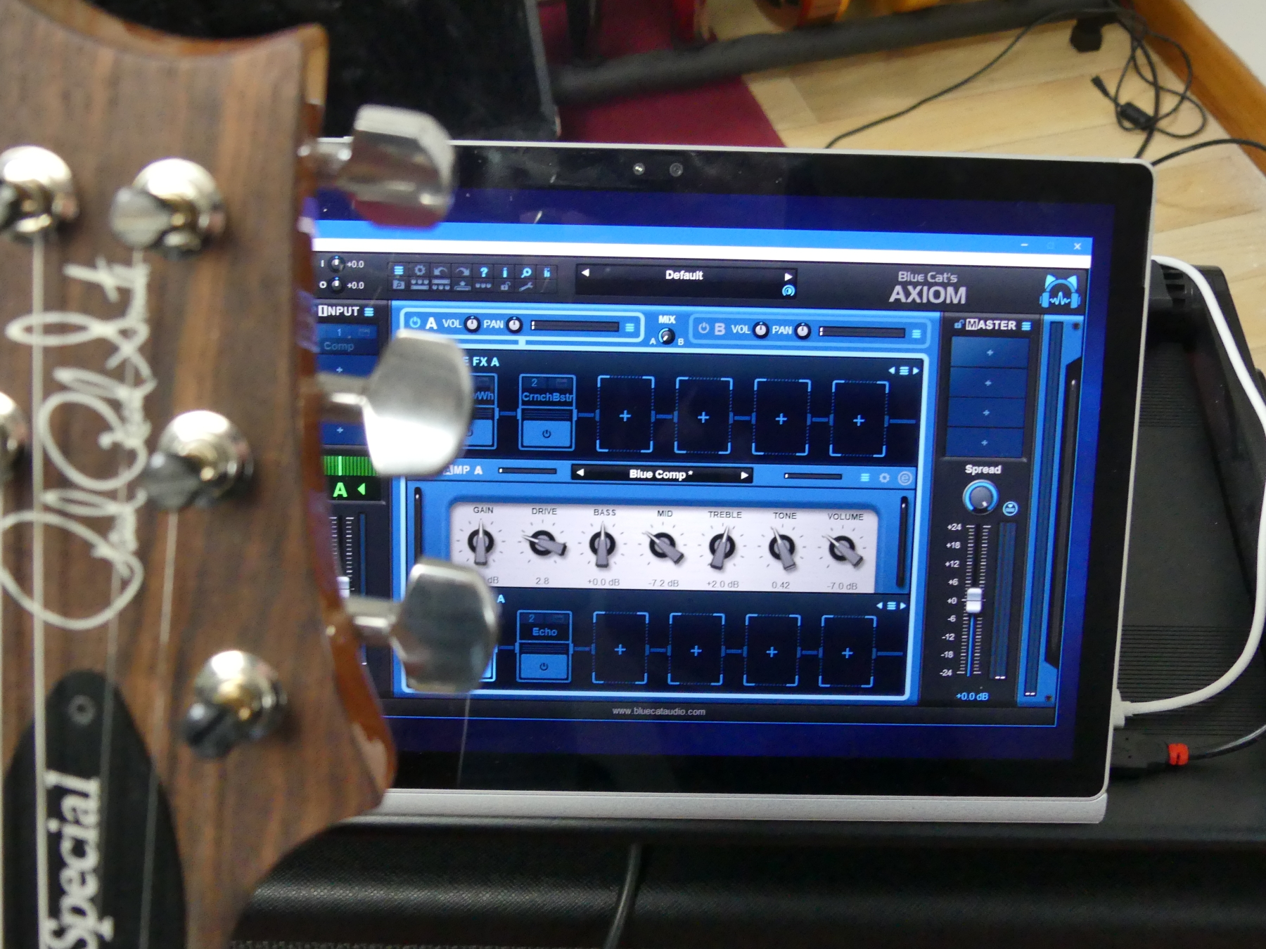 Tweaking Guitar & Bass Presets For Live Gigs