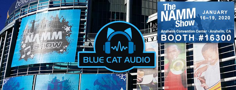 Blue Cat Audio @ NAMM 2020