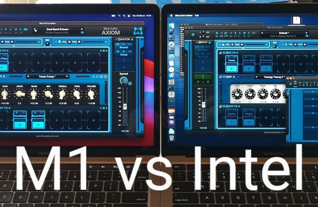Apple M1 vs Intel for Audio: A Benchmark