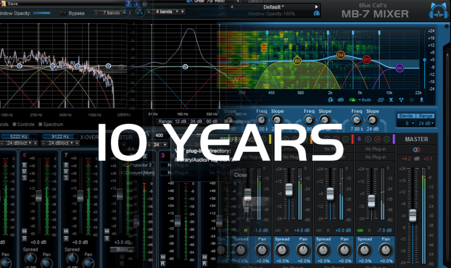 MB-7 Mixer: 10 Years of Multiband Processing!