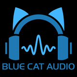 Blue Cat Audio Logo Desktop Wallpaper