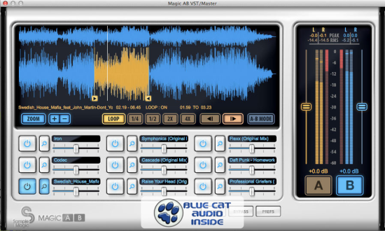 Blue Cat Audio Licenses Audio Plug-in Technology to Sample Magic (2013/05/29)