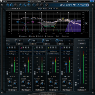 Blue Cat Audio Unleashes Blue Cat's MB-7 Mixer 2.0 (2013/09/05)