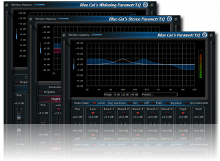 Blue Cat's Parametr'EQ Pack - Professional Parametric Equalizer Plug-ins Bundle (VST, AU, RTAS, DX)