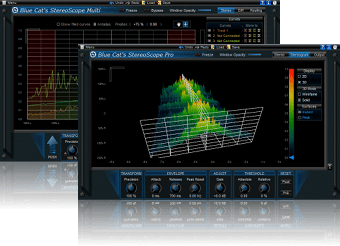 Blue Cat's StereoScope Pack - Real Time Stereo Image Audio Analysis VST, DX, AU and RTAS Plug-ins Bundle