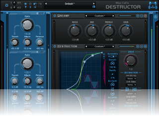 Blue Cat's Destructor - Distortion and Amp Sim Plug-In (VST, AU, AAX, VST3, RTAS, DX)