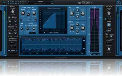 Blue Cat's Dynamics - Compressor, Gate, Limiter, Expander, Waveshaper Plug-In (VST, AU, AAX, RTAS, DX)
