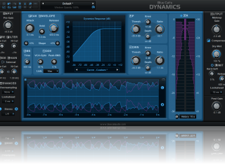 Blue Cat's Dynamics - Compressor, Gate, Limiter, Expander, Waveshaper Plug-In (VST, AU, AAX, VST3)