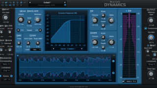 Blue Cat's Dynamics - Compressor, Gate, Limiter, Expander, Waveshaper (VST, AU, RTAS, DX)