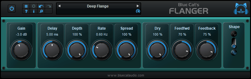 Blue Cat's Flanger 2.63