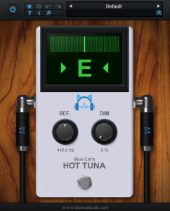 Blue Cat's Hot Tuna - Universal Tuner Plug-In
