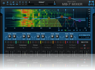 Blue Cat's MB-7 Mixer - Multi Band Mixing Plug-in