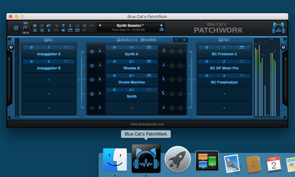 Blue Cat's PatchWork 1 6 Released - Avid Pro Audio Community