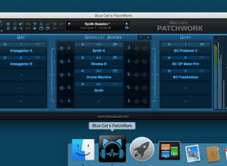Blue Cat's PatchWork - Now available as a standalone application for Mac and PC, it lets you quickly load and use your favorite virtual instruments and audio/MIDI effect plug-ins.
