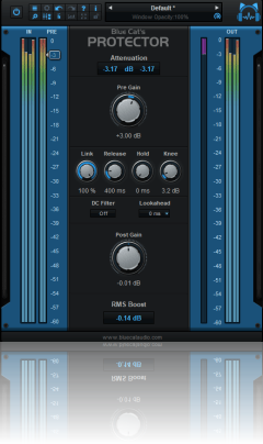 Blue Cat's Protector - Brickwall Limiter Plug-in (VST, AU, RTAS, DX)