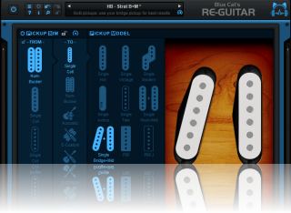 Blue Cat's Re-Guitar - Simulate typical single coil pickups combinations