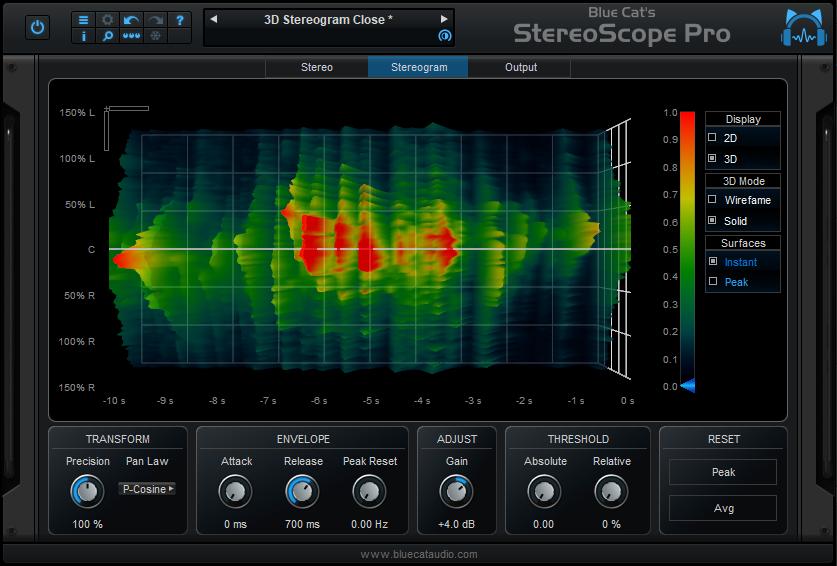Blue Cat's StereoScope Pro x64 screenshot