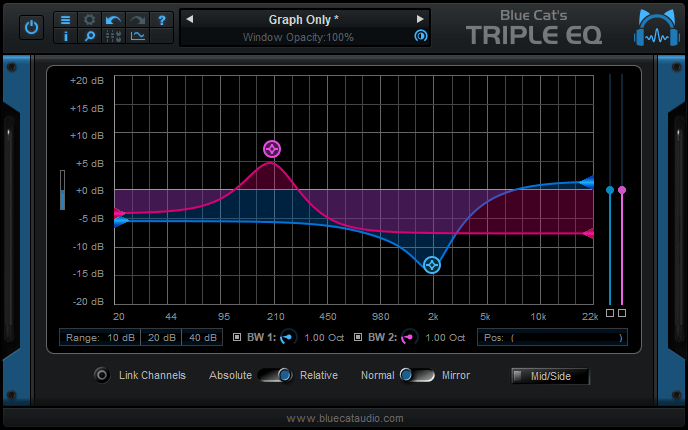 Blue Cat's Triple EQ 3.53