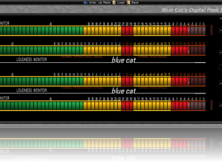 Loudness Meter (v3) Skin for Blue Cat's DP Meter Pro, by Ngarjuna