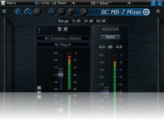 SB-1 Mixer Skin for Blue Cat's MB-7 Mixer, by Blue Cat Audio