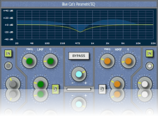 Oxford Skin for Blue Cat's Parametr'EQ, by Stefan Windus