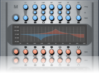 Silver Skin for Blue Cat's Widening Parametr'EQ, by Stefan Windus