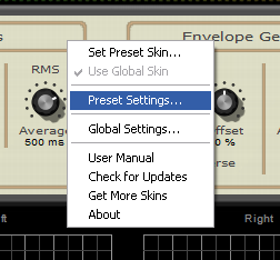 Step 03 - Open the DPMP presets settings window