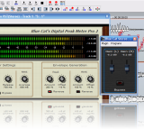 Read Tutorial - Blue Cat's Digital Peak Meter Pro In Samplitude - Automated Audio to MIDI Control Generation