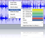Read Tutorial - Blue Cat's Digital Peak Meter Pro & Automation In Sonar - Automated Audio to Automation Generation