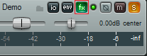 Step 01 - Open the fx bin on the guitar track